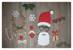 HoHoHo it`s Christmas - Photobooth Props