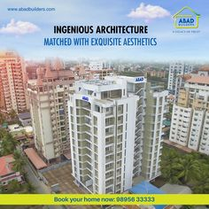 Flats and Luxury Apartments in Kochi Abad Knights Bridge and Ikebana are the launching flats and apartments in Kochi. Book your apartments in Kochi now.