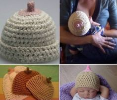 Boob Beanie Free Crochet Pattern