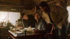 Grimm 2x15 Nick, Monroe e Hank