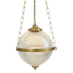 Interior ceiling pendant lights for traditional Victorian and Edwardian hallways. Glass globe hall lantern hanging on gold chains. Glass Pendant Light, Ceiling Pendant, Glass Pendants, Victorian Pendant Lighting, Contemporary Pendant Lights, Brass Fittings, Light Fittings, Light Fixtures, Light In