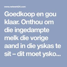 Onthou om die ingedampte melk die vorige aand in die yskas te sit – dit moet yskoud wees, anders sal dit nie styf klits nie. Pie Recipes, Recipies, Dessert Recipes, African Dessert, South African Recipes, Recipe Cards, Om, Puddings, Hummingbird