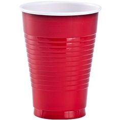 These plastic cups by Party Dimensions are designed for all occasions; banquets, parties, upscale catering, and home. Disposable plastic cups in red 20 cups per pack 48 packs per case - 48 Units Disposable Tableware, Disposable Cups, Plastic Plates, Plastic Cups, Guest Towels, Red Apple, Red Color, The Unit, Count