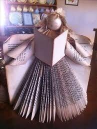 Resultado de imagen de how to do a bookfolded tree