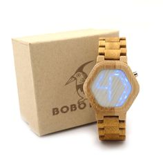 BOBO BIRD E03 Bambooo Wooden Hexagonal Form WristWatch Mens Kisai Wood Led Watch Unique Night Vision Full Wood Clock With Box #>=#>=#>=#>=#> Click on the pin to check out discount price, color, size, shipping, etc. Save and like it!