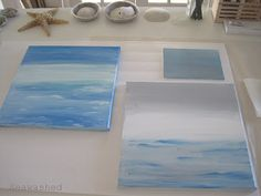 Gorgeous paintings of the sea - acrylic on canvas