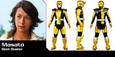 Tokumei Sentai Go-Busters - Masato (Beet Buster) - Super Sentai Time Capsule Power Rangers Cosplay, Kamen Rider Wizard, Go Busters, Hero Time, Time Capsule, Live Action, Beast, Ss, Lord