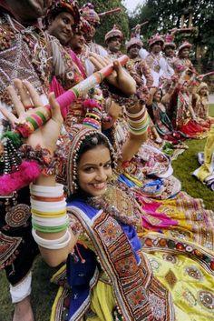 Navratri-Garba Festival, Gujarat, India