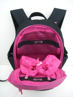 Gym Backpack, Gym Bag, Ladies Gym, Fitness Style, Fitness Fashion, Wash  Bags, Pink Black, Separate, Fit Women fd7401202e