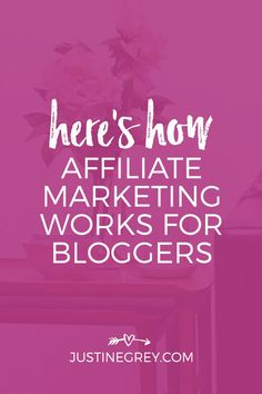 If you heard affiliate marketing is a great way to monetize your content, but aren't sure how affiliate marketing works exactly, this post will explain! Mobile Marketing, Internet Marketing, Digital Marketing, Business Tips, Online Business, Business Coaching, Marketing Words, Content Marketing, Easy Money Online