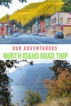 Our Adventurous North Idaho RoadTrip travel Places To Travel, Places To Visit, Sandpoint Idaho, Road Trip Destinations, Coeur D'alene, United States Travel, Travel Usa, Beach Travel, Travel Around The World