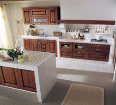 Cucina in muratura rustica n.02 | Cucine | Pinterest | Design and ...