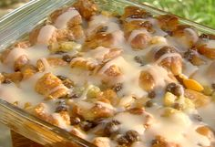 Bill Nicholson's Krispy Kreme Bread Pudding with Butter Rum Sauce Recipe : Paula Deen : Food Network - FoodNetwork.com