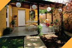 I want to do something like this on my back patio....