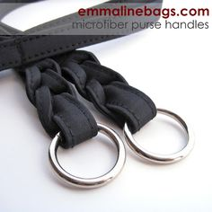 Microfiber Purse Handles: What To Do With Them and Links to Free Patterns - Emmaline Bags and Patterns