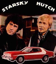 Paul Michael Glaser photo Starsky and Hutch David Soul with the car Classic Tv, Classic Films, Paul Michael Glaser, David Soul, Starsky & Hutch, Old Tv Shows, Favorite Tv Shows, Movie Tv, Fairy Tail