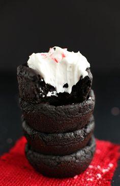 Vegan Peppermint Brownies! minimalistbaker.com #vegan #glutenfree