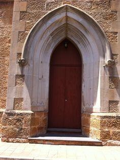 St Johns Church door. Church Street Salisbury South Australia 5108