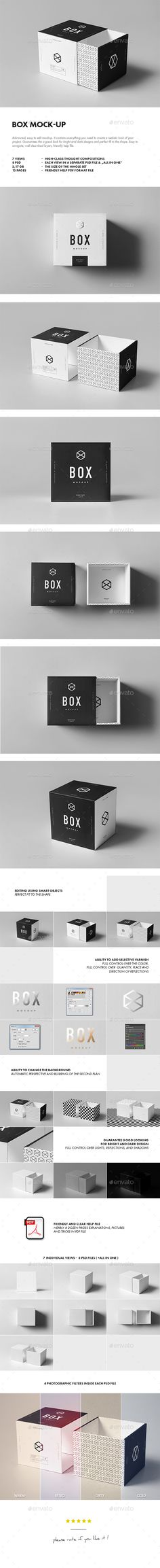 #box #mock-up #packaging