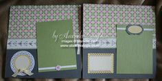 I love Stampin' Up!'s Spring Fever Simply Scrappin' Kit from the current Occasions Mini catalog! The colors, the images and borders make creating a cute scrapbook page a snap!