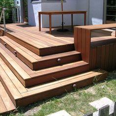 trex accents deck with ramp decks by suncoastdeckcom pinterest planters the floor and decks