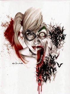 Harley/Joker Mashup