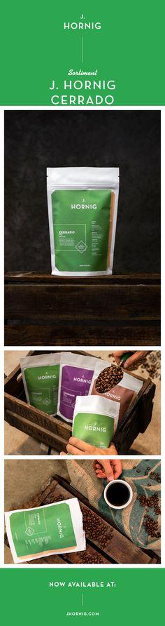 Die Bohnen für unseren J. Hornig Cerrado stammen von der Fazenda Sao Silvestre. Die Farm liegt auf einer Hochebene in der Region Cerrado und wird von Ismael Andrade betrieben. Auf 1.200 Metern Seehöhe baut Ismael die Arabica-Varietät #YellowIcatu an. Der #Kaffee wird von Hand geerntet, sorgsam aufbereitet und direkt nach Graz geschickt, wo wir ihn traditionell auf der Trommel rösten. So ergibt sich ein Single-Origin-#Spezialitätenkaffee mit süßem Geschmack, guter Fülle und leichter Säure. Espresso, Arabica, Corporate Design, Drum, Beans, Graz, Traditional, Espresso Coffee, Brand Design