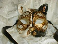 Venetian Cat Mask in Fall 2012 from Uno Alla Volta on shop. Description from pinterest.com. I searched for this on bing.com/images