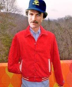 vintage 70s corduroy jacket CHAMPION letterman puffy by skippyhaha, $33.00