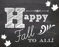 happy #fall to all!