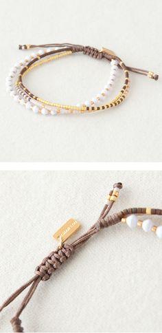 CHAN LUU beads bracelet