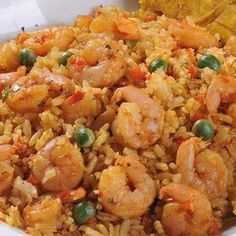 Rice with Shrimp Recipe - Recetas