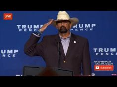 Sheriff Clarke Brings Down The House At Trump Rally - It Is Pitchforks and Torches Time in America!