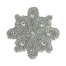 image of Stanley Beaded Snowflake Coaster (Set of 4)