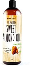 Putting almond oil on your hair and skin can do some pretty impressive things. Here are twelve reasons you should get yourself a bottle and where to buy it. Almond Oil Uses, Sweet Almond Oil, Good Massage, Baby Massage, Massage Oil, Home Remedies For Wrinkles, Face Cream For Wrinkles, Acne Oil, Solid Perfume