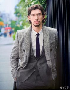 Vogue Magazine asks Adam Driver 6 Questions. I think this is the only picture I've seen that I think Adam Driver is attractive in. Questions For Girls, This Or That Questions, Adam Sackler, Beautiful Men, Beautiful People, Girls Hbo, Kylo Ren Adam Driver, Raining Men, Oui Oui