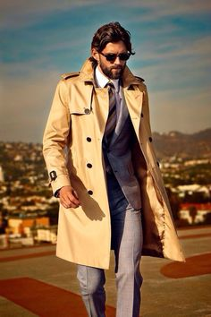 This is how you rock a trench.