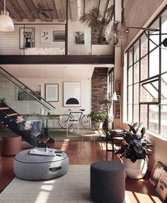 #Loft in #Melbourne design Studio Grazia & Co #luxury #luxuryhome #architect #luxuryhouse #arquitectura #luxurylife #luxurylifestyle #bighouse #bighouses #lights #homes #homestyle #homestead #homestyling #houses #architecture #architectureporn #design #m
