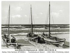 Sarkau, Fischerboote am Strand I   Last changed: 2013-02-27