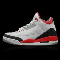 Authentic Air Jordan 3 Fire Red Cheap Jordan Shoes 15c442865