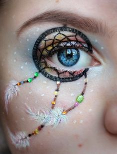 dream cather / eyes / make up
