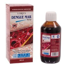 Dengue Mar from Lords Homeopathic comes with a completely herbal formulation to battle this disease. Tulsi, Neem, Papaya, Giloy and such other ingredients come together to provide relief from joint and body ache, nausea, headache, weakness and such other symptoms of dengue. The natural composition of the medicine comes with a guarantee of no dangerous after effects.   http://www.lordshomoeopathic.com/new-products/dengue-mar-syrup.html