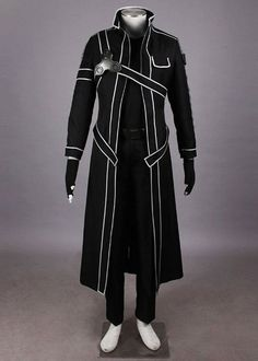 Relaxcos Sword Art Online Kazuto Kirigaya Cosplay Costume * You can get more details by clicking on the image.