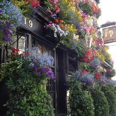 Floral pub: Best of British