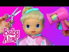 BABY ALIVE Baby Gets A Boo Boo Doll Doctor Check Up with Dr Sandra by DisneyCarToys - YouTube