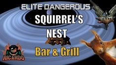 Elite: dangerous - Squirrels Nest now we know where they hide their nuts !