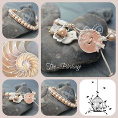 Peach Freshwater Pearl Single Wrap with Ceramic Button