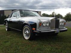 1978 Rolls-Royce Corniche Silver And Black