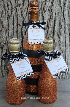bloom designs: Make It Monday- Witch's Brew Bottles