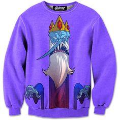 94dc639c7 The King Sweatshirt Ice King, Beloved Shirts, Adventure Time Characters,  Hoodies, Sweatshirts
